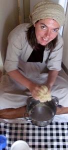 day 4, madonna baking